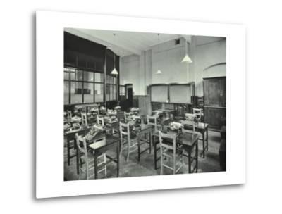 Typewriting Room, Balham and Tooting Commercial Institute, London, 1931--Metal Print