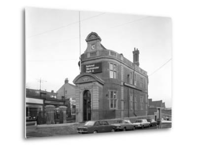 The Natwest Bank, Mexborough, South Yorkshire, 1971-Michael Walters-Metal Print