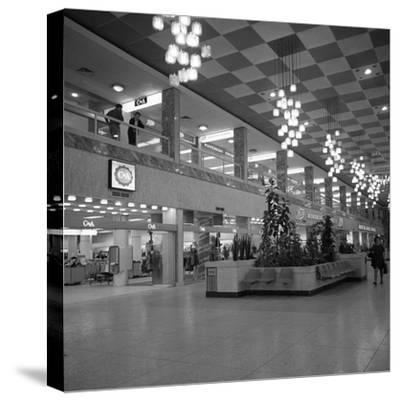 The New Arndale Shopping Centre in Doncaster, 1969-Michael Walters-Stretched Canvas Print
