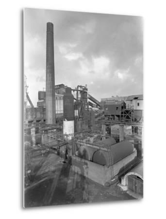 Wath Main Colliery, Wath Upon Dearne, Near Rotherham, South Yorkshire, 1956-Michael Walters-Metal Print