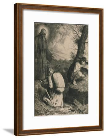 The Slough of Despond, C1916-William Strang-Framed Giclee Print