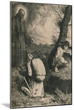 The Slough of Despond, C1916-William Strang-Mounted Giclee Print