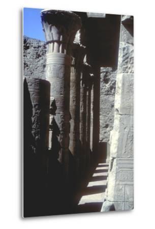 Lotus Capitals, Temple of Horus, Edfu, Egypt, Ptolemaic Period, C251 Bc-C246 Bc-CM Dixon-Metal Print
