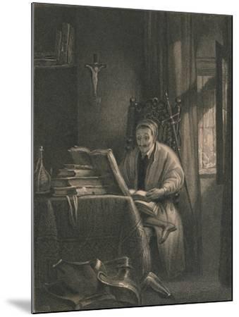 Don Quixote in His Study, 1831-Richard Parkes Bonington-Mounted Giclee Print