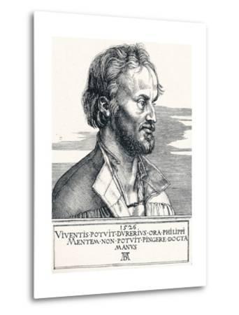 Philipp Melanchthon, 1526-Albrecht D?rer-Metal Print