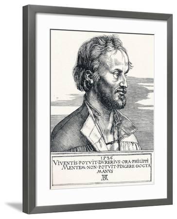 Philipp Melanchthon, 1526-Albrecht D?rer-Framed Giclee Print