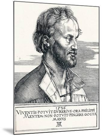 Philipp Melanchthon, 1526-Albrecht D?rer-Mounted Giclee Print