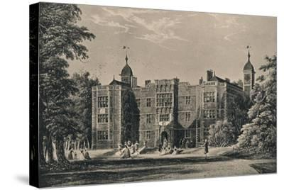 Charlton House, Kent, 1915-James Holland-Stretched Canvas Print