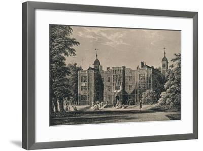 Charlton House, Kent, 1915-James Holland-Framed Giclee Print