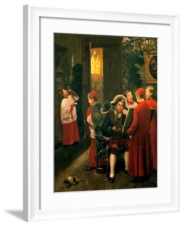 Children of Chorus, C1900-1930-Paul Charles Chocarne-moreau-Framed Giclee Print