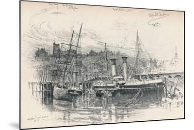 Folkestone Harbour, 1896, (1898)-Edward William Charlton-Mounted Giclee Print