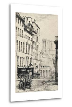 Rue De La Montagne-Ste Genevieve, 1915-Charles Heyman-Metal Print