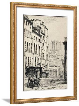 Rue De La Montagne-Ste Genevieve, 1915-Charles Heyman-Framed Giclee Print