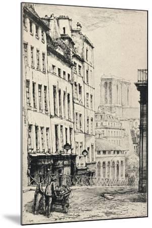 Rue De La Montagne-Ste Genevieve, 1915-Charles Heyman-Mounted Giclee Print