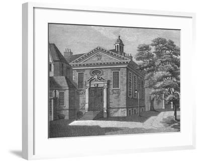 Lyons Inn, C1800-Samuel Ireland-Framed Giclee Print