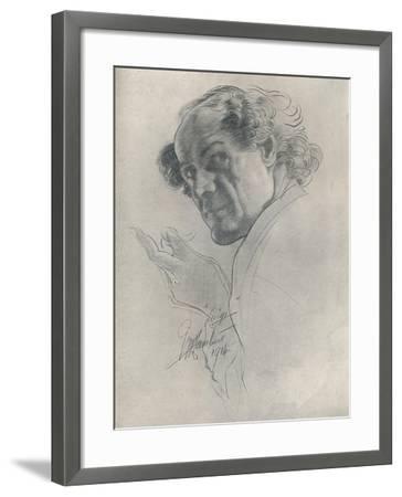 Luigi, C1914-George Washington Lambert-Framed Giclee Print