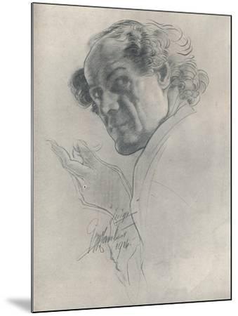 Luigi, C1914-George Washington Lambert-Mounted Giclee Print