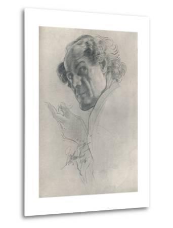 Luigi, C1914-George Washington Lambert-Metal Print