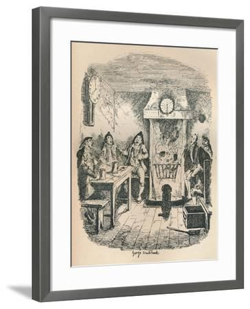 Scotland Yard, C1900-George Cruikshank-Framed Giclee Print