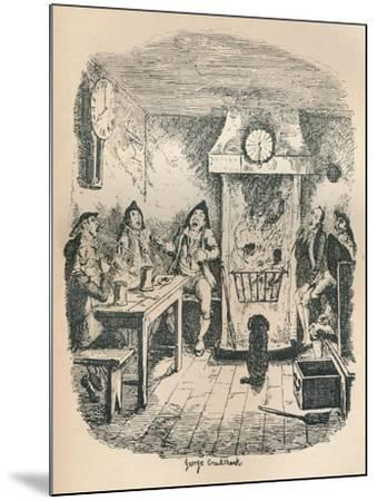 Scotland Yard, C1900-George Cruikshank-Mounted Giclee Print