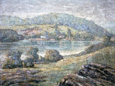 Morning Light, River Valley, Connecticut, 1919-Ernest Lawson-Framed Giclee Print