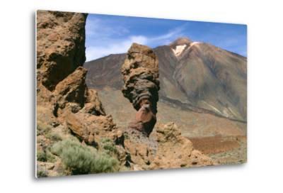 Roques Chinchado, Parque Nacional Del Teide, Tenerife, Canary Islands, 2007-Peter Thompson-Metal Print
