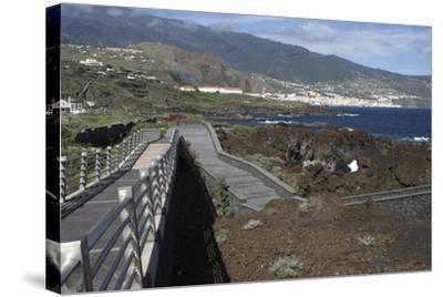 Santa Cruz De La Palma from Los Cancajos, La Palma, Canary Islands, Spain, 2009-Peter Thompson-Stretched Canvas Print