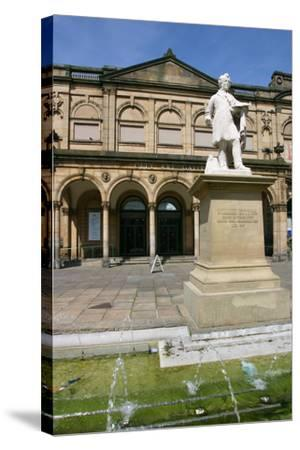 York City Art Gallery, North Yorkshire-Peter Thompson-Stretched Canvas Print