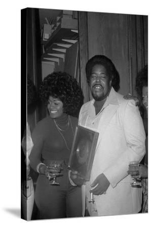 Barry White, London,1974-Brian O'Connor-Stretched Canvas Print