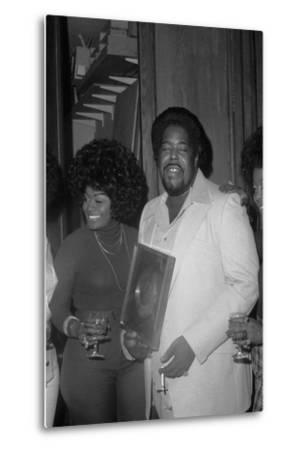 Barry White, London,1974-Brian O'Connor-Metal Print