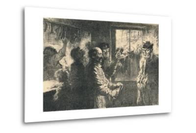 Dammerung, C1887-1898, (1898)-Robert Hermann Sterl-Metal Print