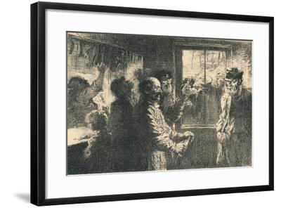 Dammerung, C1887-1898, (1898)-Robert Hermann Sterl-Framed Giclee Print