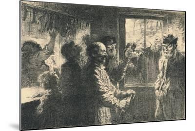 Dammerung, C1887-1898, (1898)-Robert Hermann Sterl-Mounted Giclee Print