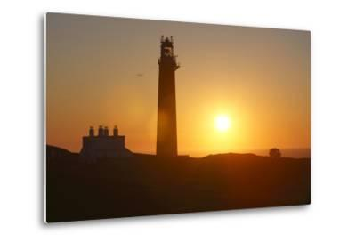 Lighthouse, Butt of Lewis, Lewis, Outer Hebrides, Scotland, 2009-Peter Thompson-Metal Print