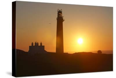 Lighthouse, Butt of Lewis, Lewis, Outer Hebrides, Scotland, 2009-Peter Thompson-Stretched Canvas Print