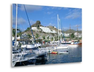 Marina, Puerto Rico, Gran Canaria, Canary Islands-Peter Thompson-Metal Print