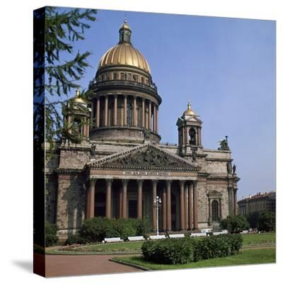 St Isaacs Cathedral in St Petersburg-CM Dixon-Stretched Canvas Print