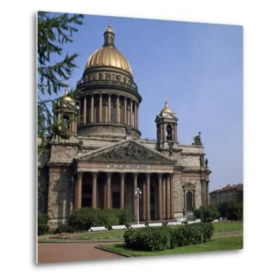 St Isaacs Cathedral in St Petersburg-CM Dixon-Metal Print
