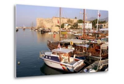 Harbour and Castle, Kyrenia (Girne), North Cyprus-Peter Thompson-Metal Print
