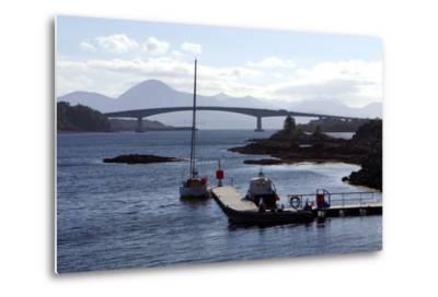 Skye Bridge, Highland, Scotland-Peter Thompson-Metal Print