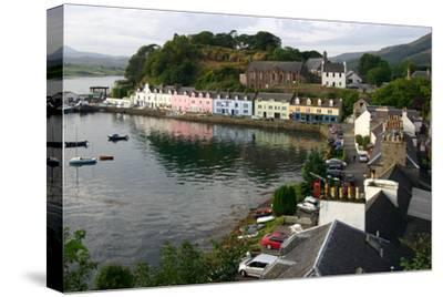 Portree, Isle of Skye, Highland, Scotland-Peter Thompson-Stretched Canvas Print