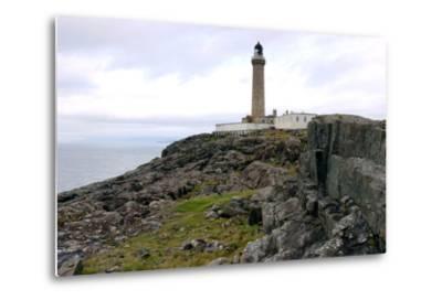 Ardnamurchan Lighthouse, Highland, Scotland-Peter Thompson-Metal Print