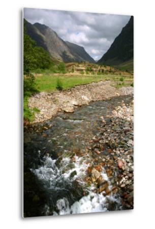 Glencoe, Highland, Scotland-Peter Thompson-Metal Print