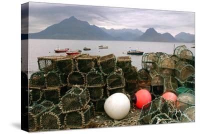 Cuillin Hills from Elgol, Isle of Skye, Highland, Scotland-Peter Thompson-Stretched Canvas Print
