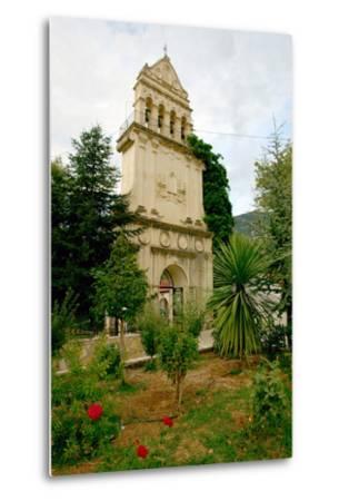 Monastery of Agios Gerasimos, Kefalonia, Greece-Peter Thompson-Metal Print