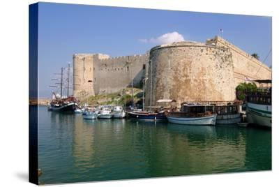 Harbour and Castle, Kyrenia (Girne), North Cyprus-Peter Thompson-Stretched Canvas Print