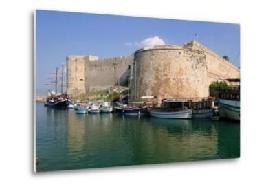 Harbour and Castle, Kyrenia (Girne), North Cyprus-Peter Thompson-Metal Print