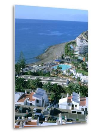 Playa Del Cura, Gran Canaria, Canary Islands-Peter Thompson-Metal Print