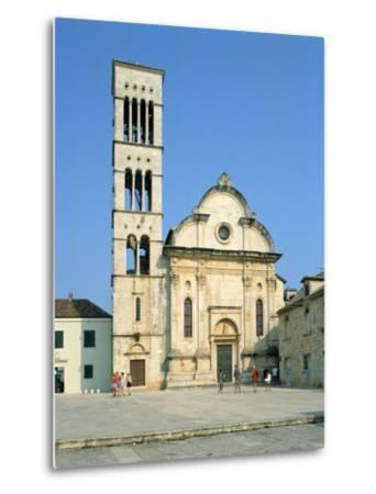 Hvar Cathedral, Croatia-Peter Thompson-Metal Print