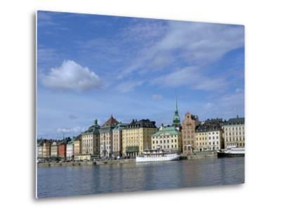 Gamla Stan, Stockholm, Sweden-Peter Thompson-Metal Print